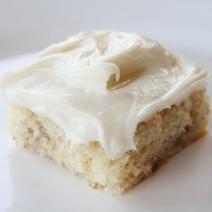 The BEST Banana cake you'll ever eat!!! AND you can low cal it very easily and it still tastes great!