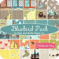 Bluebird Park Yardage Kate & Birdie for Moda Fabrics - Fat Quarter Shop, due October, 2013