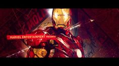 IRON MAN 3 : TITLE CONCEPT MOTION TEST by Ash Thorp. Here is one of the quick motion tests we pitched to Paramount and Marvel for one of the concepts.  Animation is all done by the mighty and talented Alasdair Willson: