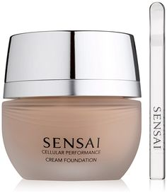 Kanebo Sensai Cellular Performance Cream Foundation Number CF13, Warm Beige 30 ml -- This is an Amazon Affiliate link. Read more reviews of the product by visiting the link on the image.