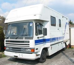 This 1996 #Leyland DAF 45 #horsebox carries up to three horses | For #sale on #HorseDeals