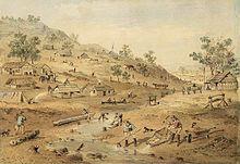 Australian Gold Rush 1851