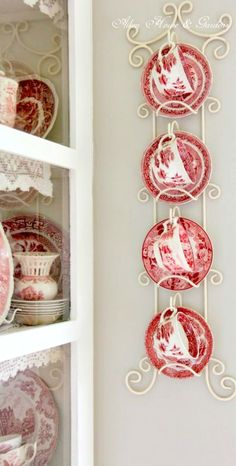 Red toile china ~Debbie Orcutt ❤