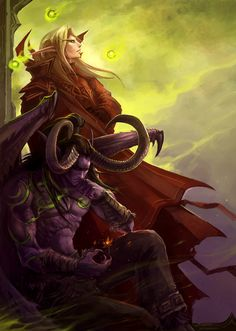 20 Mind Blowing Warcraft Digital Illustrations