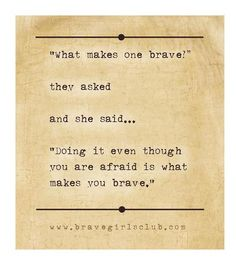 a little bird told me ❤ your daily message from the Brave Girls Club Great Quotes, Quotes To Live By, Me Quotes, Inspirational Quotes, Motivational, Httyd, Brave Girl Quotes, Daily Word, Word 365