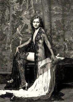 Shorpy's   Mary Nolan of Ziegfeld Follies, 1920's.