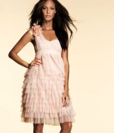 H Pink Party Dress