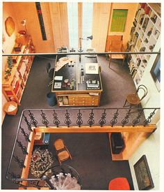 The Home Book by Terence Conran - 1982 >> awesome studio loft space!