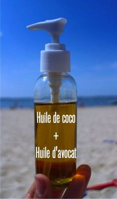 Huile de coco + huile d'avocat