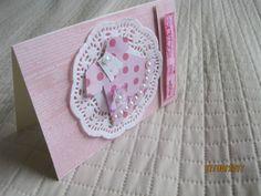 Kartka dla dziewczynki na roczek