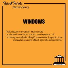 """Windows: velocizzare comando """"trace route"""""""