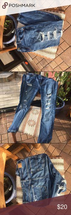 American eagle boyfriend jeans great condition American eagle jeans. American Eagle Outfitters Jeans Boyfriend
