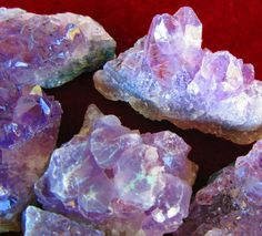 WHOLESALE AMETHYST GEODE Crystal Clusters - 1/2 to 50 Lb Lot Small (1/2-3 Oz) Amethyst Geode Crystals * Great for Jewelry! by GeoSpecimens