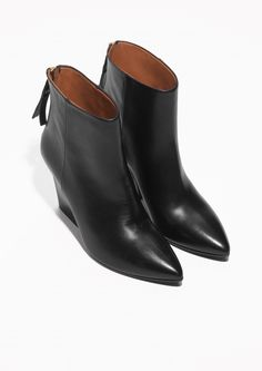 & Other Stories   Pointy Ankle Boots