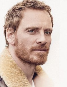 Michael Fassbender by Matthew Brookes for GQ UK. : LadyBoners Michael Fassbender by Matthew Brookes Gq, Redhead Baby, Ginger Men, Ginger Beard, Male Face, Beard Styles, Bearded Men, Gorgeous Men, Movie Stars