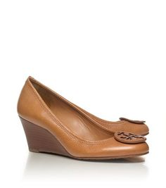 Tory Burch - sally WEDGE (Royal Tan) Style Number: 50008658
