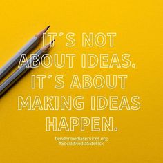 Don't just sit on an idea, the only way to make that idea come to life is to do it! Hard Work Pays Off, Make It Happen, Business Quotes, Business Ideas, Career Goals, Monday Motivation, Daily Quotes, Check It Out, Quote Of The Day