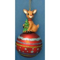 Rudolph the Red-Nosed Reindeer Christmas Ornament