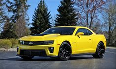 Lingenfelter Performance Engineering~Ongenfelter Camaro ZL1. Has 730 HP & Goes Over 200 MPH!