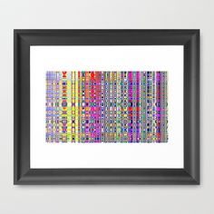 An Abstract Framed Art Print by Cassie Peters - $31.00