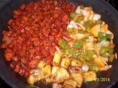 Tacos al Pastor por Lety Almaguer #carne #tacos #pastor #trompo #mexican #diy #platillo #chef #easy #receta #recetasitacate #itacate #aniversario #fiestas