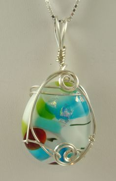 LOVE THESE! Glass Art by Southern Orchid Glass and Jewelry Designs