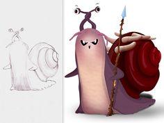 Evil Snail Lord by Navneet Rai