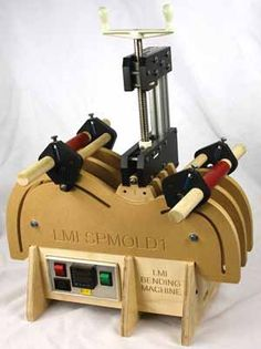 Top of the line side bending machine: LMI Bending Machine @ www. lmii.com; deluxe $625.00