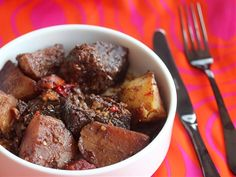 Beer-Braised Pot Roast With Mustard and Cherry Bomb Peppers