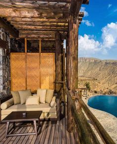 Alila Jabal Akhdar is a luxury boutique hotel in Jabal Al Akhdar, Oman. Book Alila Jabal Akhdar on Splendia and benefit from exclusive special offers ! Post Ranch Inn, Infinity Pools, Sanskrit, Big Sur, Hotels And Resorts, Best Hotels, Maldives, Costa Rica, Ibiza