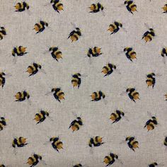 Bumble Bee Linen Canvas Fabric New Look Patterns, Simplicity Patterns, Sewing Patterns, Fleece Fabric, Satin Fabric, Christmas Fabric Crafts, Halloween Fabric, Fabric Gifts, Sewing A Button