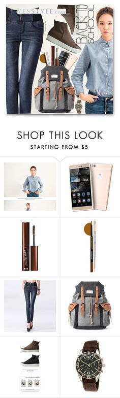 """""""Back to School - FINAL Sale"""" by beebeely-look ❤ liked on Polyvore featuring Samsung, Edena, Mr.ace Homme, Collezio, BackToSchool, striped, yesstyle, backback and productPageSectionTop"""