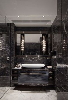 Luxury Master Bathroom Ideas is totally important for your home. Whether you pick the Luxury Bathroom Ideas or Luxury Bathroom Master Baths Dark Wood, you will make the best Dream Master Bathroom Luxury for your own life. Small Luxury Bathrooms, Modern Luxury Bathroom, Bathroom Design Luxury, Dream Bathrooms, Bath Design, Modern Bathrooms, Beautiful Bathrooms, Luxurious Bathrooms, Farmhouse Bathrooms