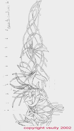 Pattern for Galadriel's Circlet (One day I will be happy I pinned this)