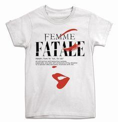 Femme Fatale Tee Womens (International Spy Museum Store Exclusive)