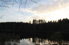 Abendstimmung am Gondelteich Mountains, Nature, Travel, Water Pond, Resin, Naturaleza, Viajes, Destinations, Traveling