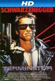 Terminator (1984) Terminator 1984, Terminator Movies, Classic 80s Movies, Great Movies, The Expendables, Sylvester Stallone, 80s Movie Posters, Movie Tv, Movie List