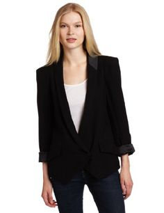 BCBGeneration Women`s Shawl Collar Jacket $88.11