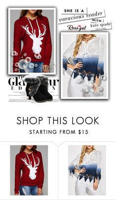 """""""Rosegal #3"""" by sabina-94-cxx ❤ liked on Polyvore featuring Kate Spade and rosegal"""