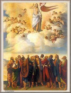 Imágenes religiosas de Galilea: Jesús Ascensión