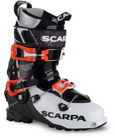 c5f039dc1c7 Scarpa Women's Gea RS Alpine Touring Ski Boots White/Black Mondo 26.5 Best  Ski Resorts