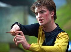 Robert Pattinson as Cedric Diggory in Harry Potter and the Goblet of Fire.