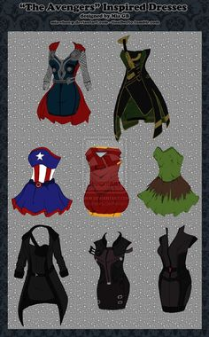 Oh... my...love I want Thor, captain America and the bottom left (can't remember right now)