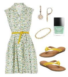 """Untitled #3235"" by im-karla-with-a-k ❤ liked on Polyvore featuring Aerosoles, Butter London and Tiffany & Co."