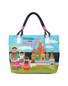Tua by braccialini Women - Handbags - Large fabric bag Tua by braccialini on YOOX 268$