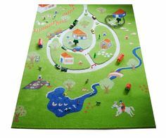 3D Play Rugs Farm
