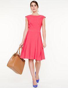 Fit & Flare Knit Dress...classic