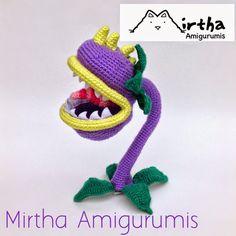 Mirtha Amigurumis: Chomper Plants vs Zombies