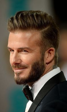 David Beckham hair: 2015 Photo: © Getty Images