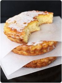 orange blossom sugar pies (directions en francais)